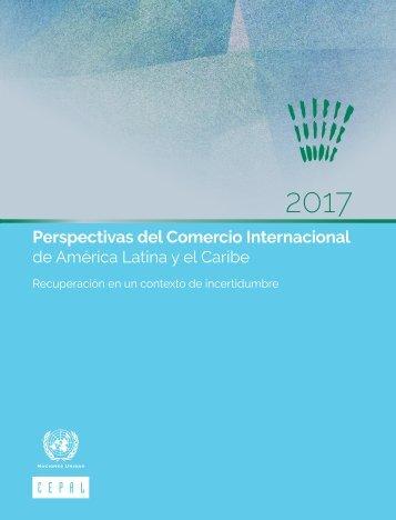 Perspectivas del Comercio Internacional de América Latina y el Caribe: recuperación en un contexto de incertidumbre