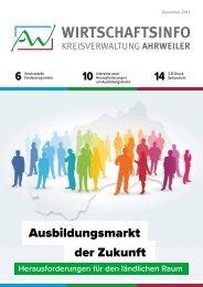 AW-Wirschaftsinfo November 2017 - Ausbildungsmarkt der Zukunft