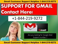 Gmail Password Recovery Helpline Number +1-844-219-9272 USA