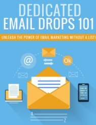 Dedicated Email Guide - How To Do Email Marketing