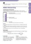 Sony NWZ-A845 - NWZ-A845 Consignes d'utilisation Suédois - Page 2