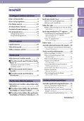 Sony NWZ-A845 - NWZ-A845 Consignes d'utilisation Suédois - Page 3