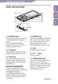 Sony NWZ-A845 - NWZ-A845 Consignes d'utilisation Suédois - Page 6