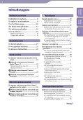 Sony NWZ-A845 - NWZ-A845 Consignes d'utilisation Néerlandais - Page 3