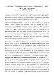 Nicht-invasive Koronarangiographie- was ist relevant f