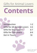 Gifts for Animal Lovers - Page 2