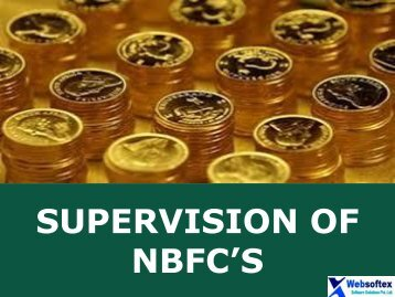 What are the NON Banking Financial Intermediaries, NBFC RBI, NBFC Example
