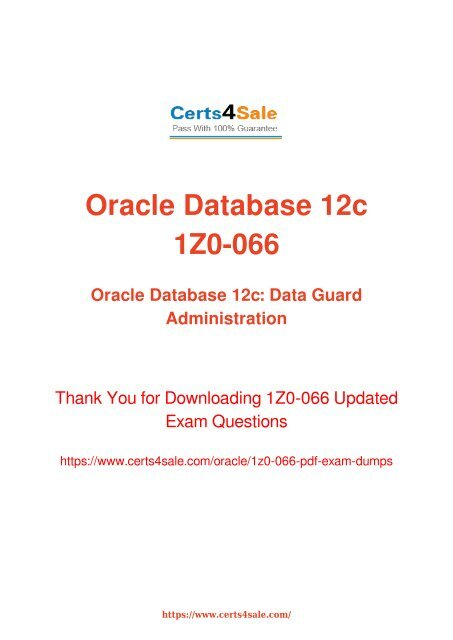 Oracle Data Guard Pdf