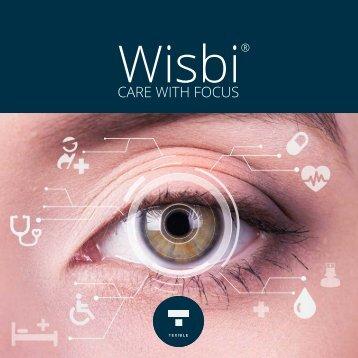 Brochure TEXIBLE Wisbi - Care with Focus