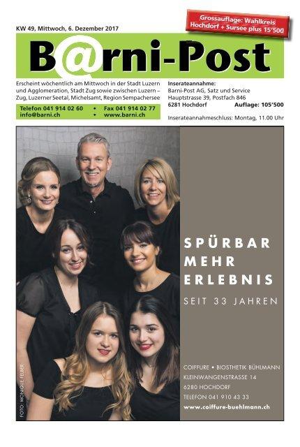 Barni-Post, KW 49, 6. Dezember 2017
