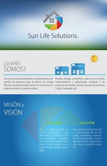 Presentación SUN LIFE SOLUTIONS 2017 Noviembre ƒ
