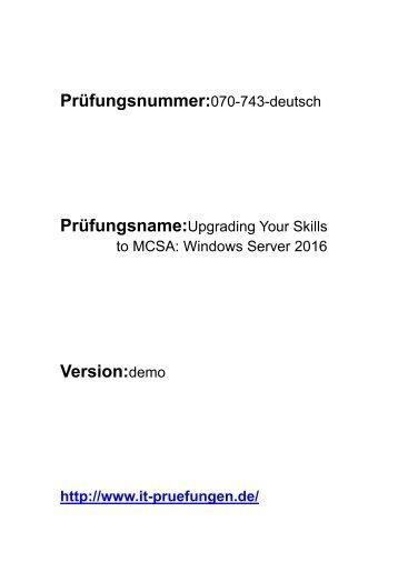 070-743-deutsch Prüfungsmaterial