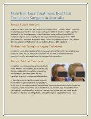 Melbourne Hair Transplant