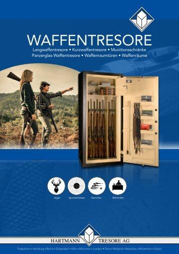 HARTMANN TRESORE Waffentresore Katalog// Gun safes catalogue 2017