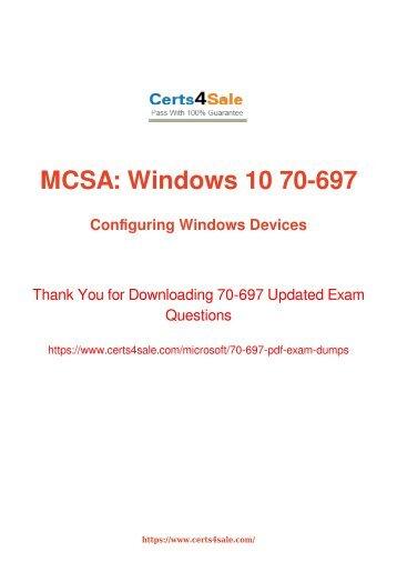 [2017] 70-697 Exam Material - Microsoft 70-697 Dumps