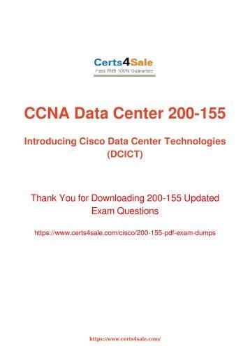 [2017] 200-155 Exam Material - Cisco 200-155 Dumps