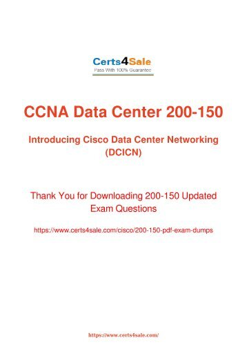 [2017] 200-150 Exam Material - Cisco 200-150 Dumps