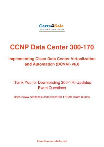 [2017] 300-170 Exam Material - Cisco 300-170 Dumps