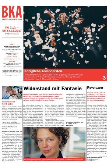 Berner Kulturagenda 2017 N° 48