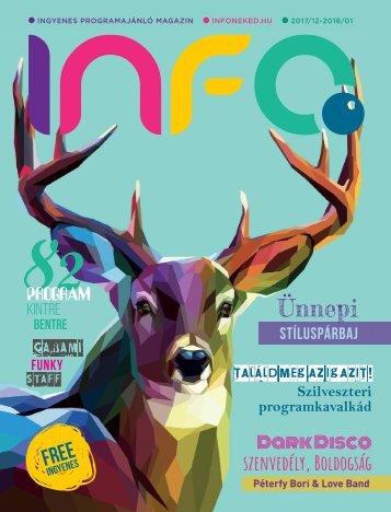 InfoPont Magazin 2017 DECEMBER 2018 JANUÁR