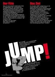 JUMP Flyer Druck - Bayerisches Seminar für Politik eV