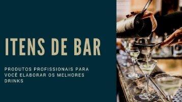 Catálogo Itens de Bar 2018
