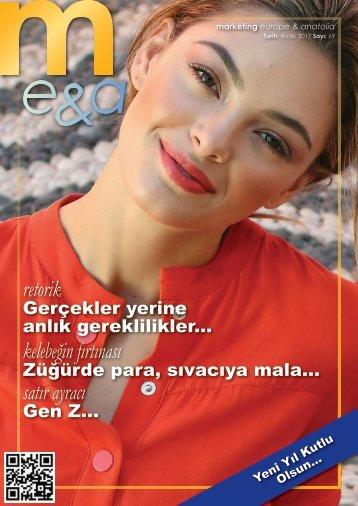 marketing europe & anatolia Sayı: 069