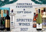 Spirited Wines Christmas Magazine 2017