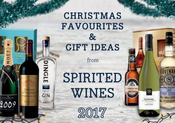 Spirited Wines Christmas Magazine 2017