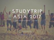 studytrip Asia 2017