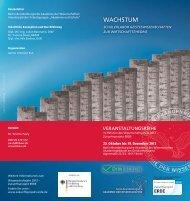 wachstum - Berlin-Brandenburgische Akademie der Wissenschaften