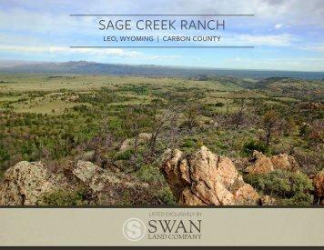 Sage Creek Ranch Offering Brochure