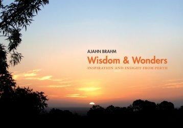 Wisdom & Wonders