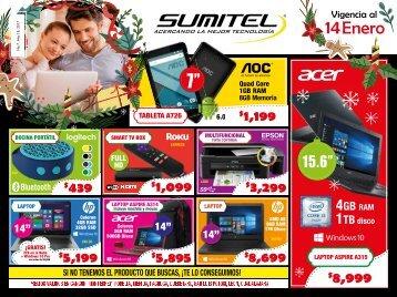 Catálogo de Tecnología SUMITEL Vig. 14ENE´18