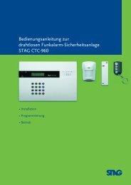 Programmierung des Alarm-Systems ... - Swissloxx.com