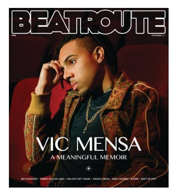 Beatroute Magazine BC Print Edition December 2017