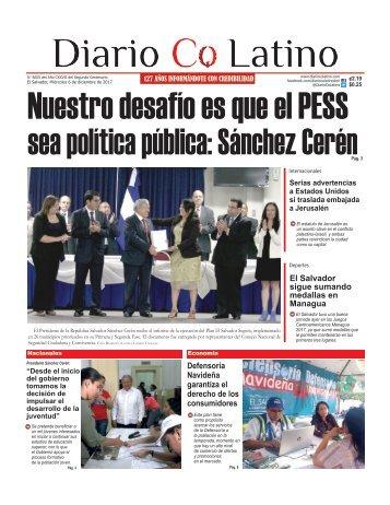 Edición 6 de diciembre de 2017