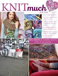 KNITmuch | Issue 05