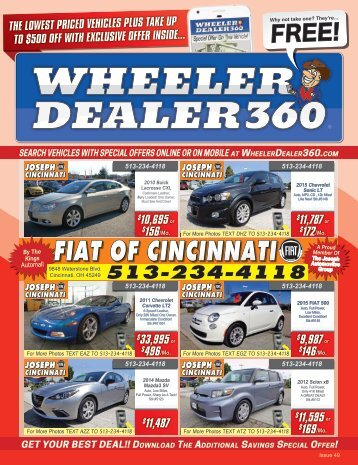 Wheeler Dealer 360 Issue 49, 2017