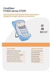 FirstFiber New Smart OTDR FF80D
