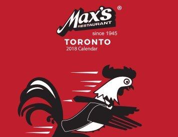 Max's Calendar