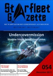 Starfleet-Gazette, Ausgabe 054 (November 2017)