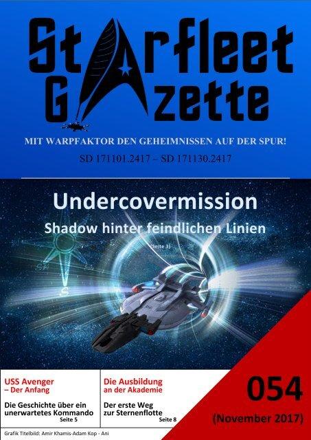 Starfleet-Gazette, Ausgabe 054 (November 2017)