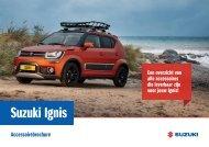 Suzuki Ignis accessoirebrochure