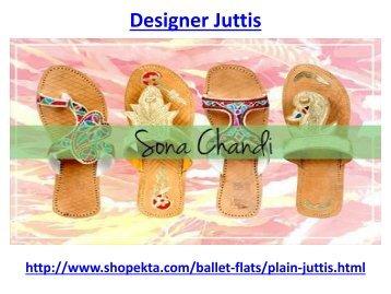 Designer Juttis