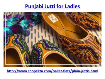 Punjabi Jutti for Ladies
