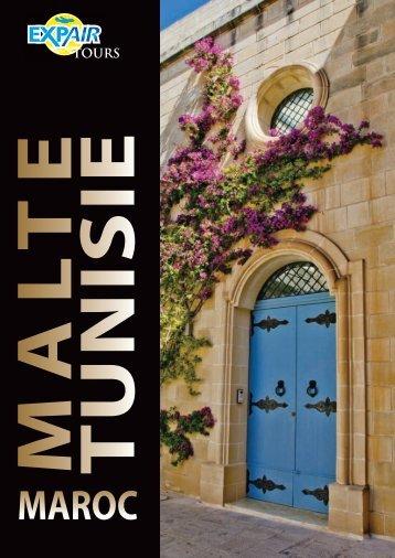 2018 Malte - Tunisie - Maroc