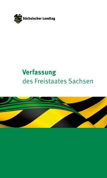 Verfassung des Freistaates Sachsen