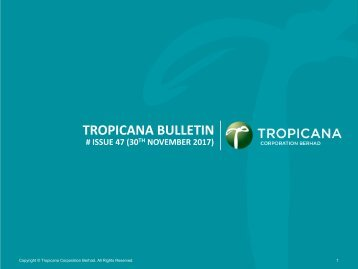 Tropicana Bulletin Issue 47