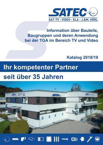SATEC SAT-Katalog 2018/19